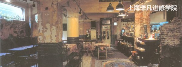 室内设计培训学校,日本古早特色的咖啡馆设计