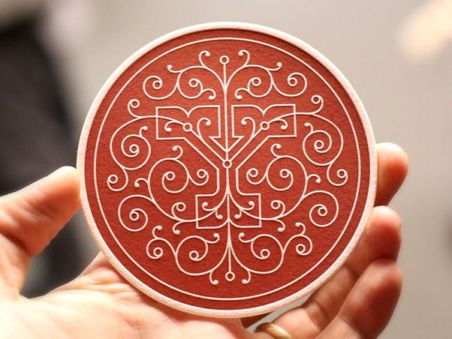 平面ui资讯>上海平面设计培训:15款创意杯垫设计