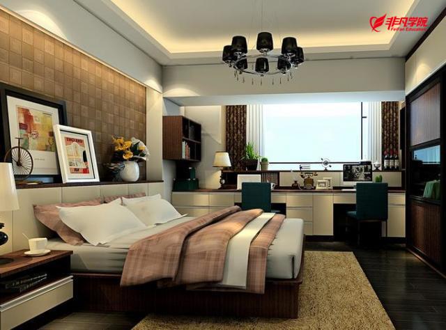 室内景观培训资讯>上海室内装修设计培训—床头装饰怎么做 除了婚纱照