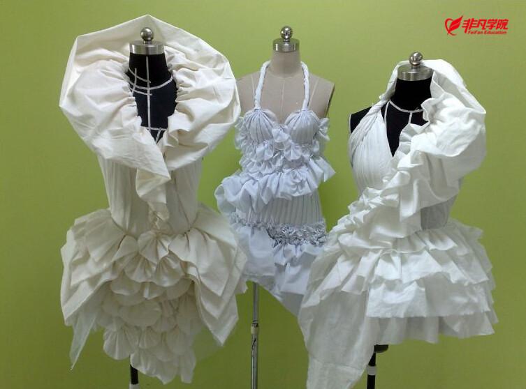 服装设计资讯>上海服装立裁培训—精品服装裁剪的操作方法与技巧