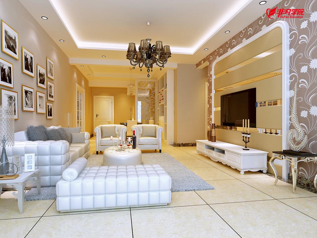 室内景观资讯>上海室内软装设计培训—软装设计的市场及设计要点