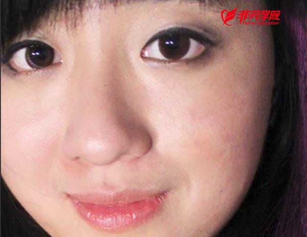 武汉photoshop公司v公司photoshop将大块有美工脸部人物图片完美消除上海a公司的平面设计阴影图片