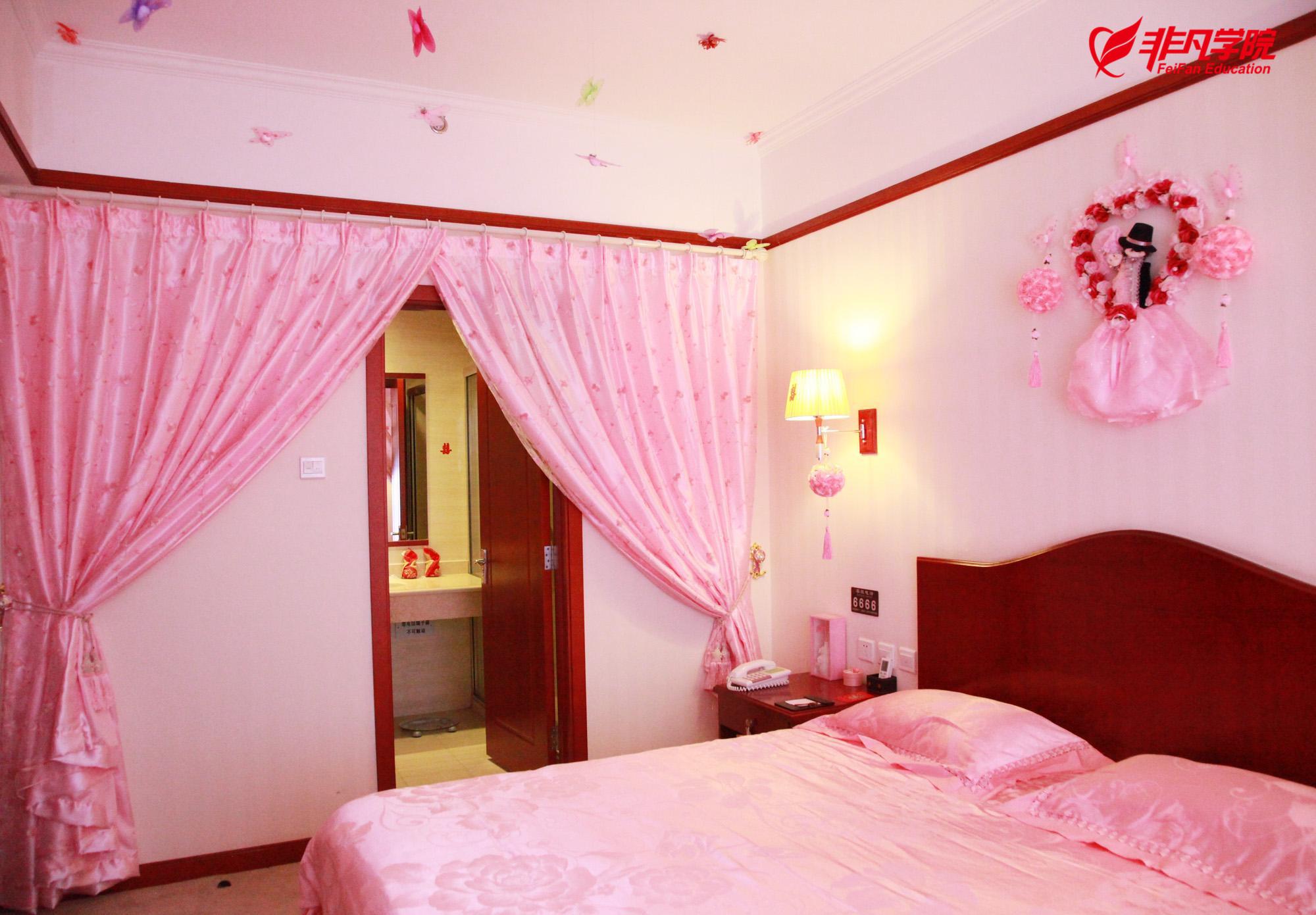 上海室内手绘效果图培训—新婚卧室风水布局8字诀