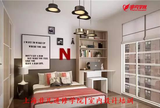 室内行业资讯>上海cad制图培训—卧室角落要这样利用 不要再放杂物了