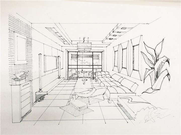 室内景观培训资讯>上海室内手绘效果图培训—【非凡学院】设计手绘—