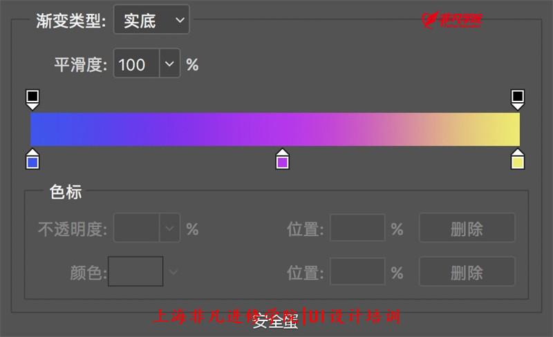 平面ui资讯>上海ui界面设计培训—photoshop渐变新玩法