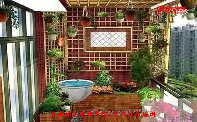 室内行业资讯--上海室内设计培训—阳台上种植花草