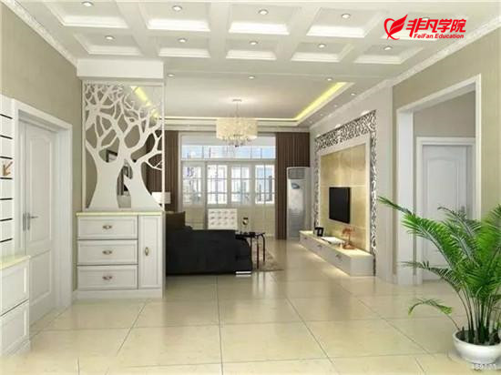 上海室内手绘效果图培训—快速教你家居配色技巧!