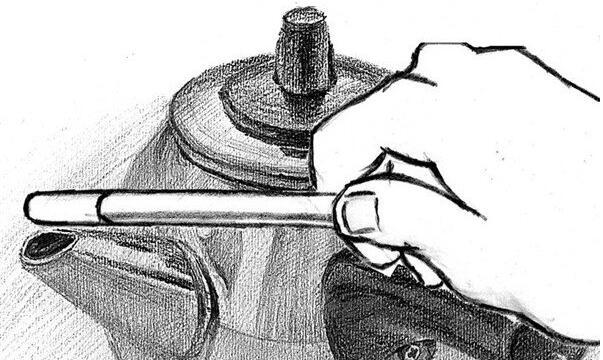 铅笔手绘商务图