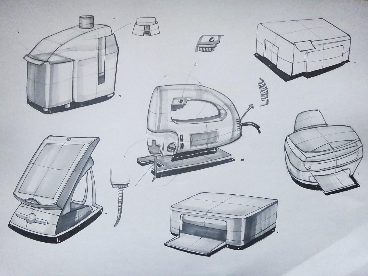 还开设汽车设计手绘,模具设计手绘,工业设计培训班,完善的教学已培养