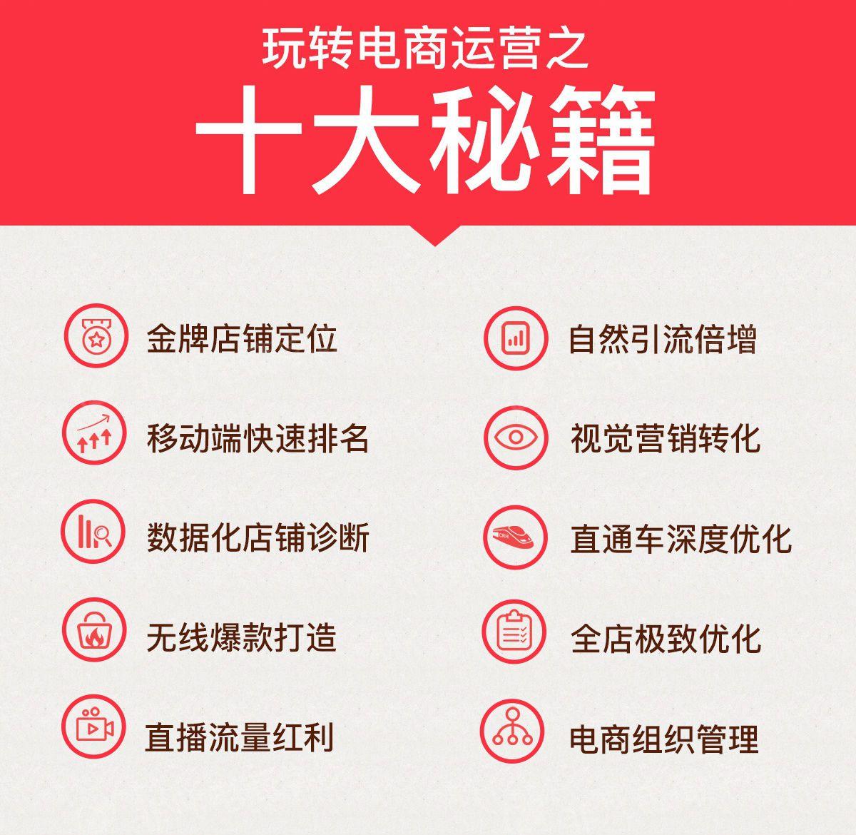 上海淘宝运营培训班