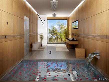 室内设计培训教程-室内卫生间效果图的制作流程