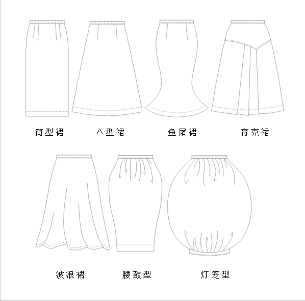 上海非凡进修学院--服装设计培训教程-裙子结构设计