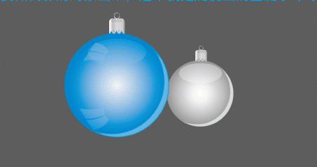 平面设计培训教程-ai倒影制作可爱小球