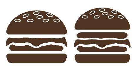 UI交互设计培训教程-教你AI绘制汉堡图标