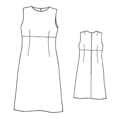 手绘连衣裙款式图步骤