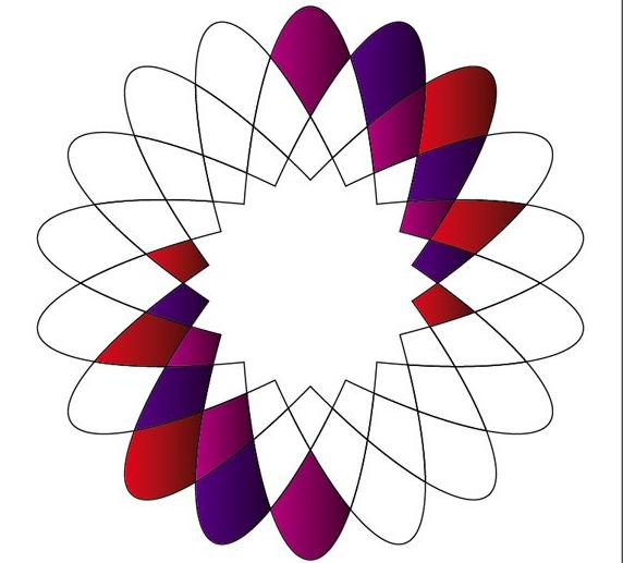 平面ui/e培訓資訊>上海ui交互設計培訓-ai制作漂亮的幾何花朵圖案