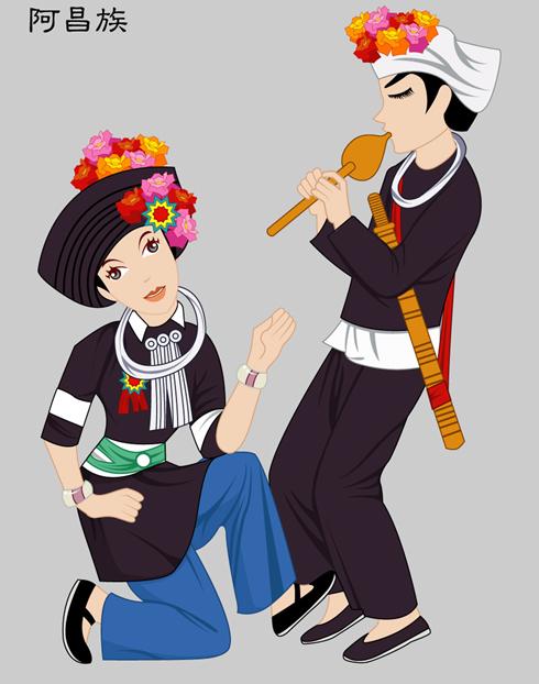 上海服装设计培训-服饰文化|中国少数民族服装大全